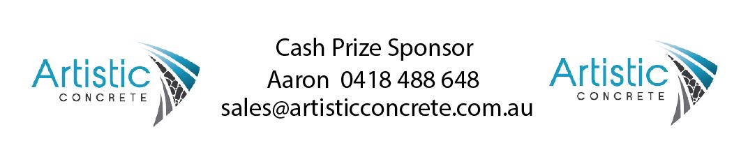 artistic concrete banner